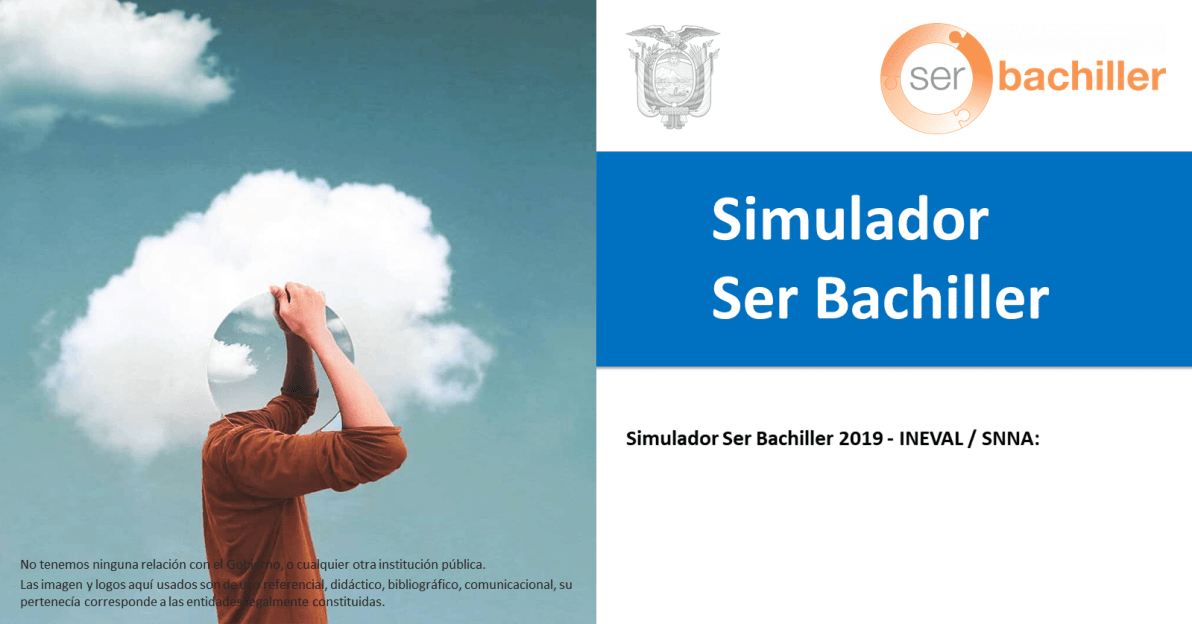 Simulador Ser Bachiller_Simulador Ser Bachiller 2019 - INEVAL / SNNA
