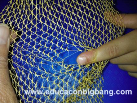 modelo de elastómero en tensión