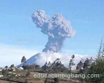 volcán verdadero