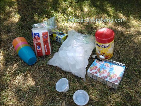 Ingredientes y materiales necesarios