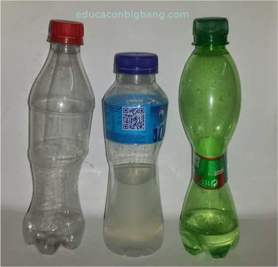 Botellas deformadas