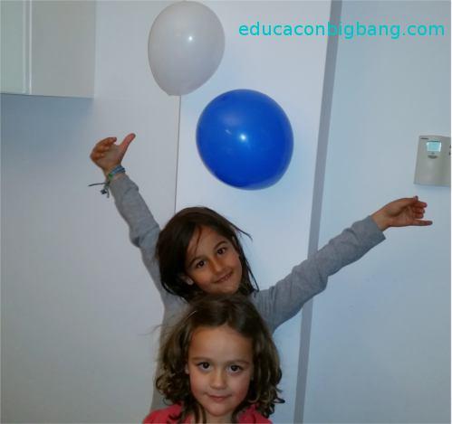 globos en la pared