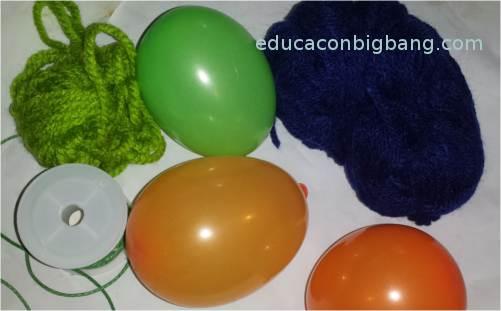 Globos inflados