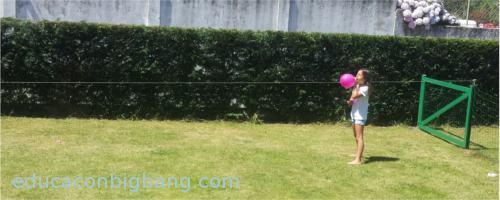 inflando el cohete