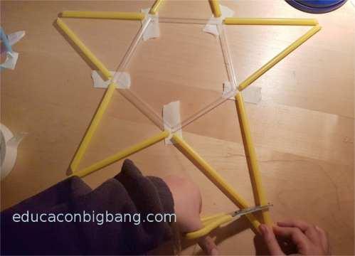 Construyendo los poligonos estrellados