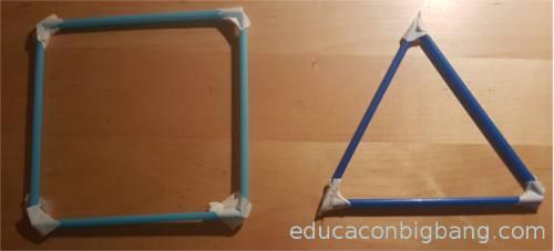 cuadrado y triangulo