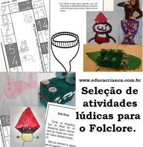 sequências didáticas Folclore ed infantil e fundamental