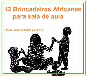 ideias lúdicas com origem africanas