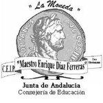 Logo ceip la moneda maestro Enrique Díaz Ferreras