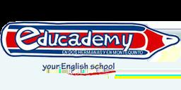 Logo educademy academia de inglés Dos Hermanas