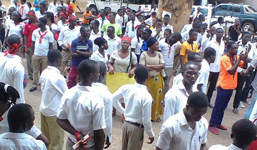 Just In: Newly Posted Teachers in Jaman North District Demand for their Staff IDs