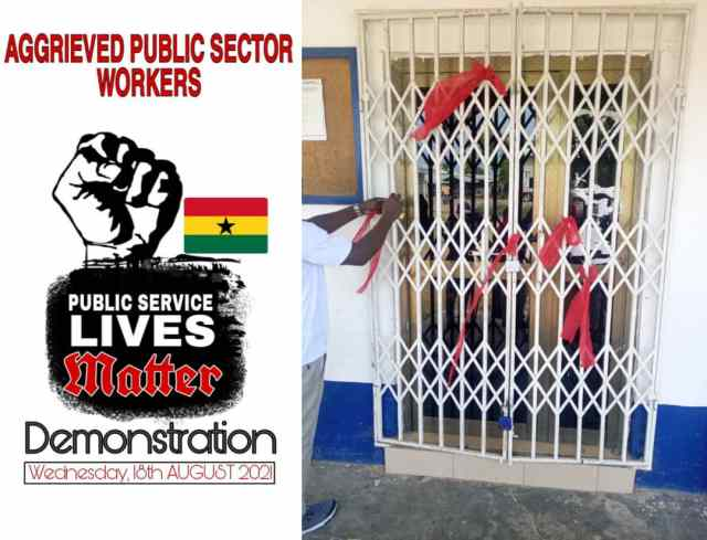 Aggrieved Public sector workers