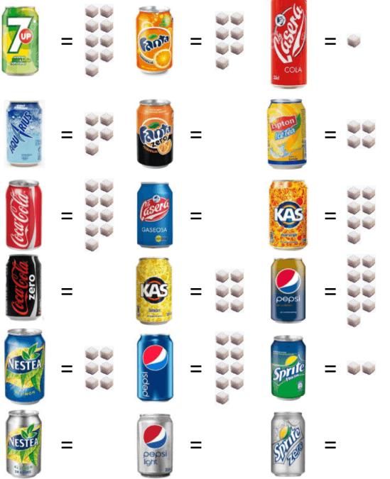 azúcar refresco
