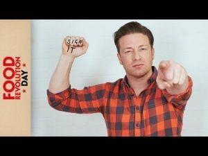 Jamie Oliver educacion alimentaria