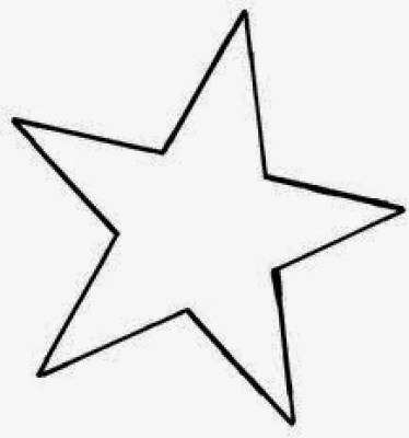 Estrellas para imprimir colorear y recortar  Material ...