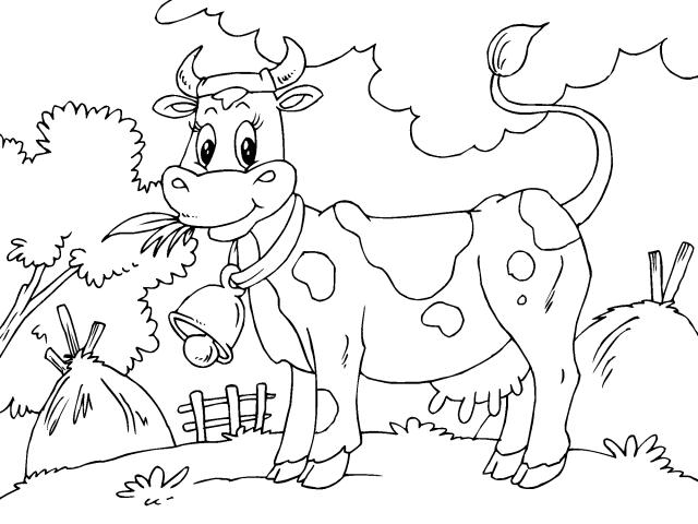 Imágenes y dibujos de Animales de Granja para Colorear | Material ...