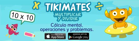 app tablas de multiplicar tikimates
