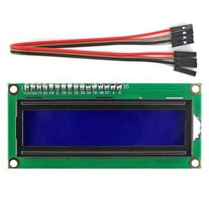 PANTALLA LCD CON INTERFAZ 1602 I2C + CABLE eBOTICS