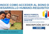 CONOCE COMO ACCEDER AL BONO DEL DESARROLLO HUMANO-REQUISITOS