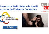 Pasos para Pedir Boleta de Auxilio en casos de Violencia Doméstica