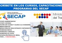 Inscríbete en los Cursos, Capacitaciones y Programas del SECAP