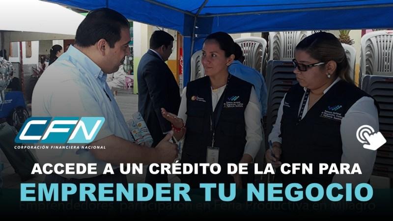 Créditos de la CFN para Emprender tu Propio Negocio