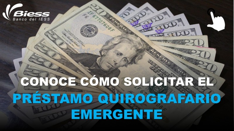 Préstamo Quirografario Emergente – Pasos y Requisitos