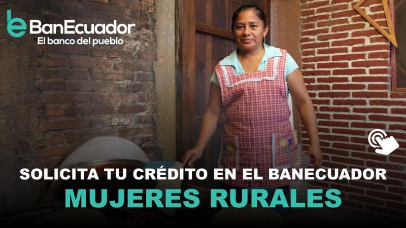 Créditos para Mujeres Rurales en Ecuador
