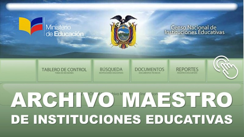 Archivo Maestro de Instituciones Educativas