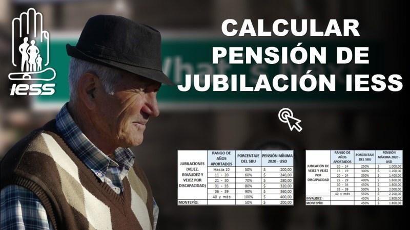 Calcular Pensión de Jubilación IESS