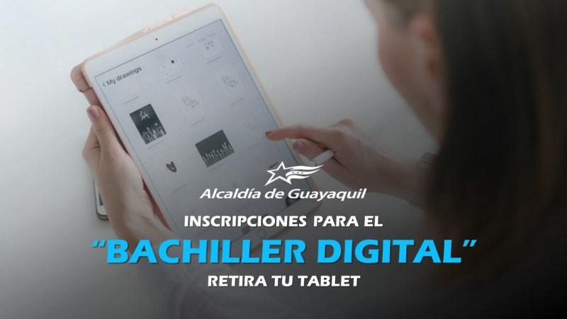 Inscripciones para Bachiller Digital 2020 GUAYAQUIL