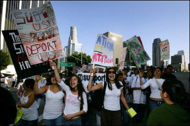 immigration law protests