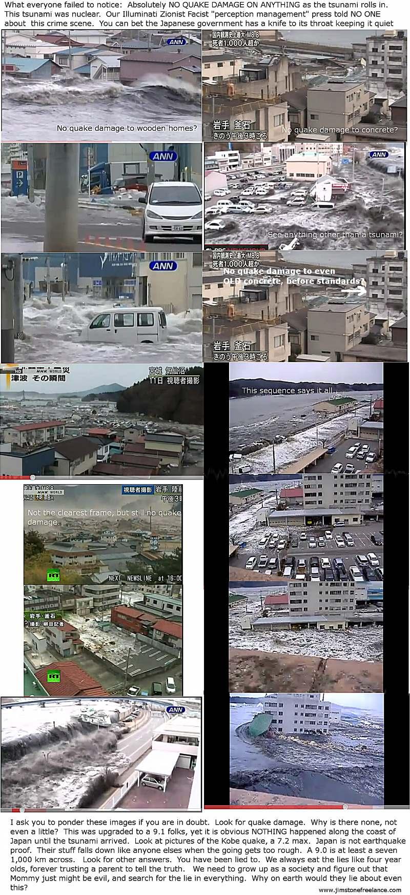 Japan tusnami photos