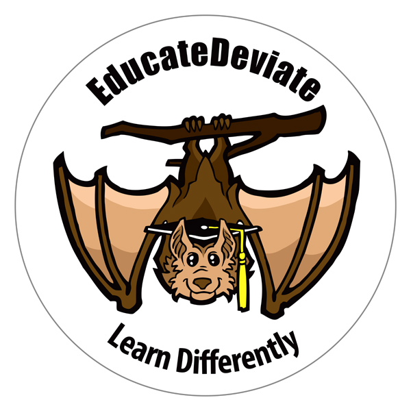 EducateDeviate logo by Marty Whitmore