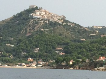 Castellabate from the sea