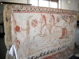 Tomb Painting - 4th century BC