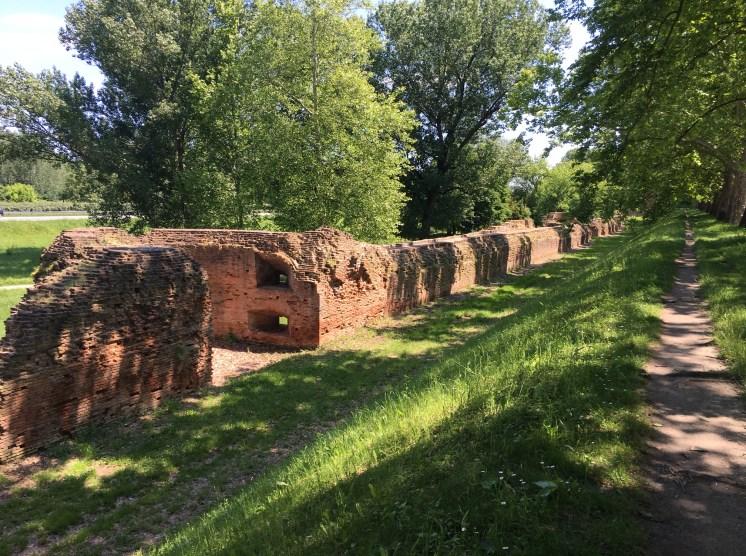The walls of Ferrara