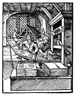 The printers at work 1568