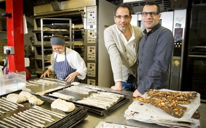 Ottolenghi and Tamimi - chefs together