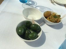 Olives especially selected from Ascoli Piceno in Italy