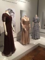 A selection of gowns from 'Putting on the Glitz' Exhibition, Lady Lever Art Gallery