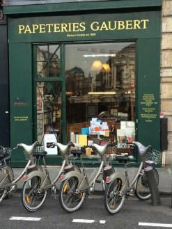 Specialist paper shop, Paris