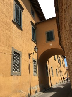Medieval palace in Pisa