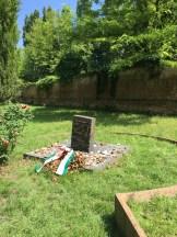 Giorgio Bassani's Memorial Stone