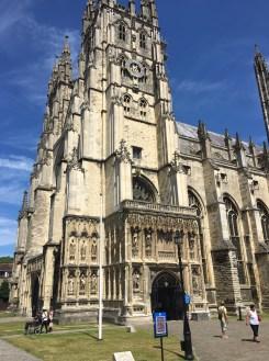 Canterbury - entrance