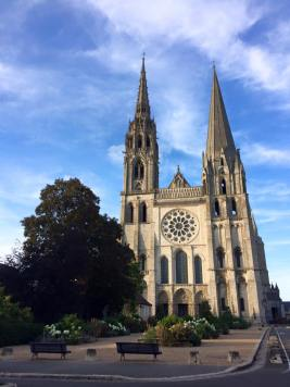 Chartres Cathedral - from the west