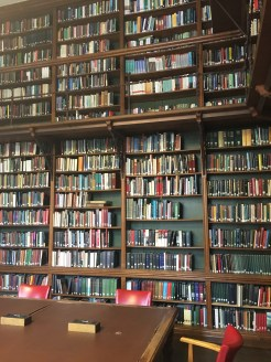Books glorious books - the library at Christ Church College, Oxford