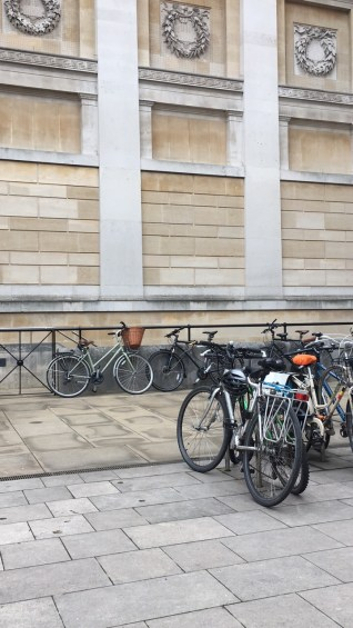 My bike outside the Ashmolean