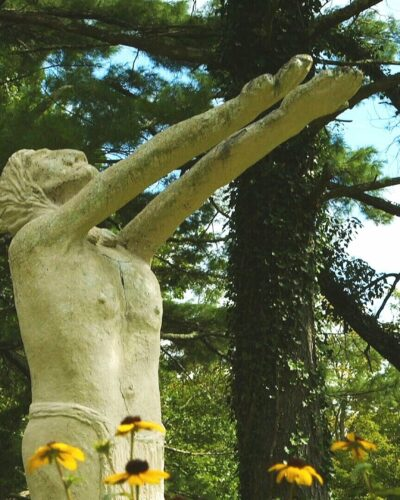 Brunel sculpture garden