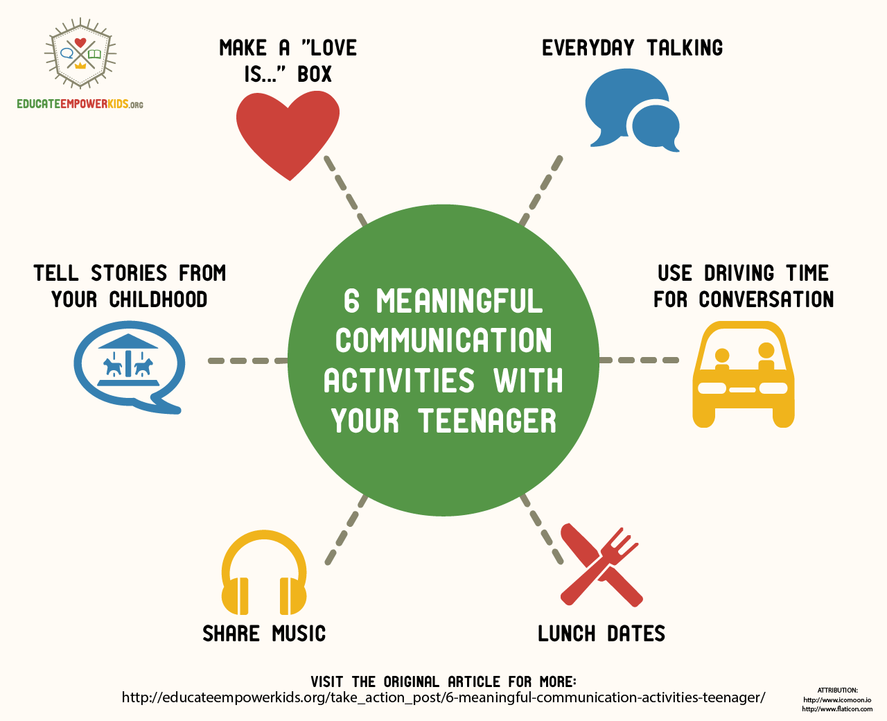 6 Great Activities To Help You Communicate With Your